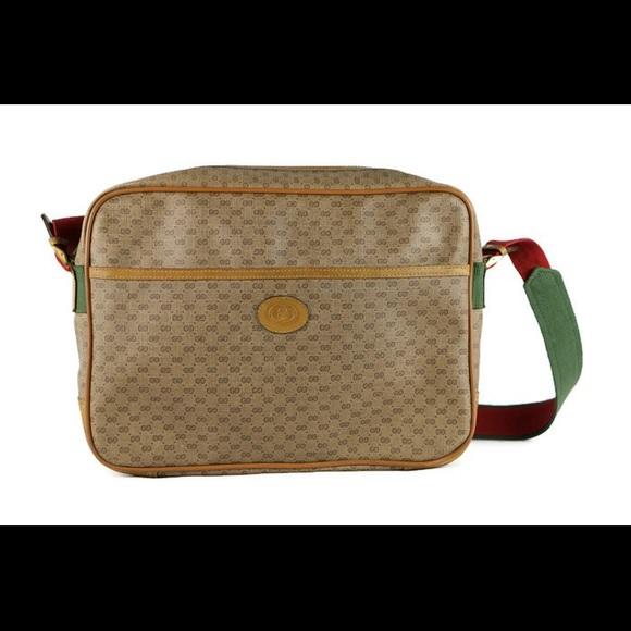 603a3884c5b5 Gucci Bags | Unisex Crossbody Handbag Usedvintage | Poshmark